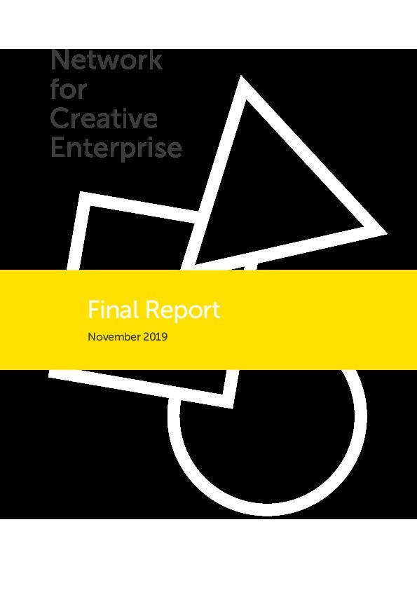 Network for Creative Enterprise final report Thumbnail