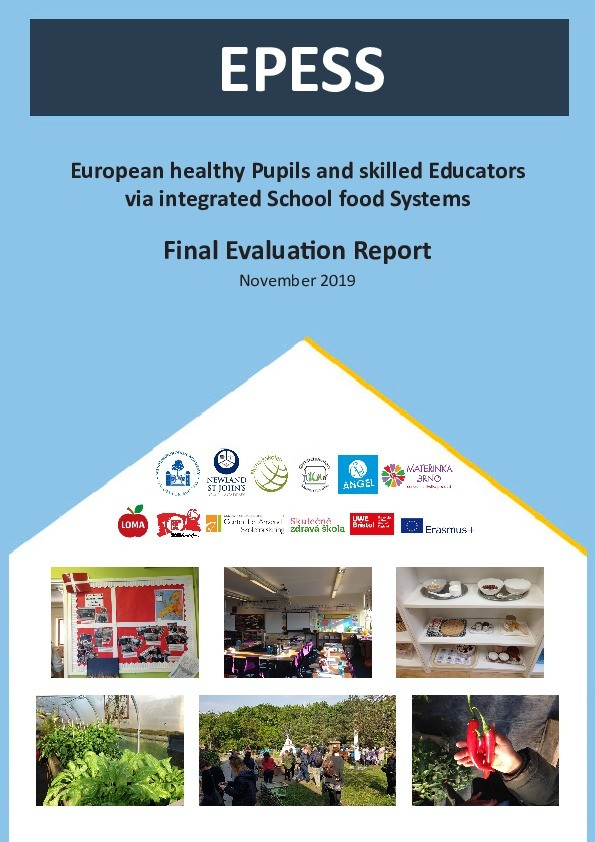 European healthy pupils and skilled educators via integrated school food systems: Final report Thumbnail
