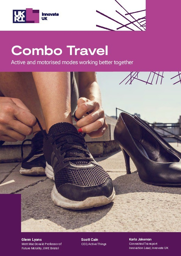 Combo Travel - Active and motorised modes working better together Thumbnail