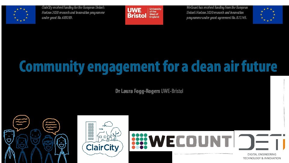 Community engagement on air quality - Environment agency air quality inequalities Thumbnail