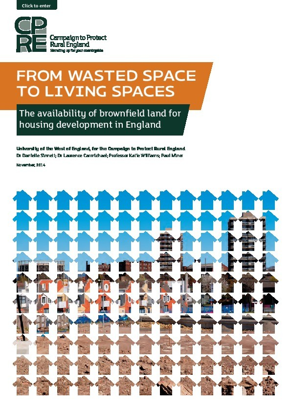 From wasted space to living spaces: The availability of brownfield land for housing development in England Thumbnail